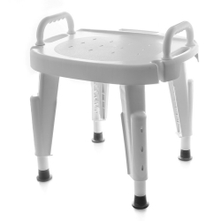 Maddak Adjustable Shower Seat with Arms