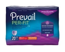 Per-Fit Protective Underwear for Women, Small/Medium