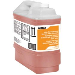 Ecolab Floor Cleaner Liquid Container