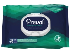 Prevail® Unscented Washcloths, Soft Pack