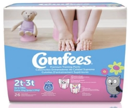 Comfees® Training Pants, 2T to 3T