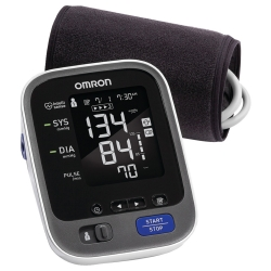 Omron 10 Series™ 1-Tube Blood Pressure Monitor, Black Cuff