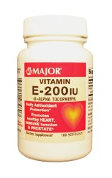 Major® Vitamin E Supplement