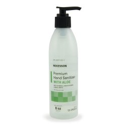 McKesson Premium Hand Sanitizer with Aloe 8 oz. Pump Bottle