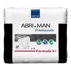 Abri-Man™ Formula 2 Adult Disposable Light-Absorbent Bladder Control Pad, 12 Inch Length