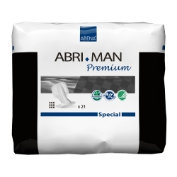 Abri-Man™ Special Adult Disposable Heavy-Absorbent Incontinence Liner, 29 Inch Length
