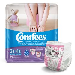 Comfees® Training Pants, 3T to 4T