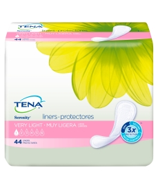 TENA® Serenity® Very Light Adult Disposable Light-Absorbent Bladder Control Pad, 9 Inch Length