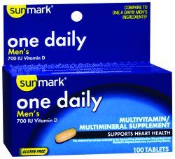 sunmark® Men's Multivitamin Supplement