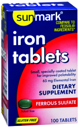sunmark® Iron Supplement
