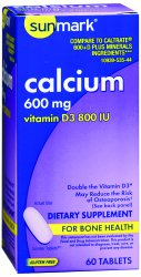 sunmark® Calcium with Vitamin D3 Supplement