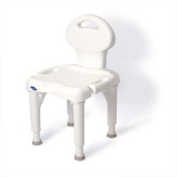 Invacare I-Fit™ Shower Chair (with Back)