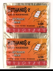 Hothands-2® Instant Chemical Activation Hot Pack, 2¼ x 4 Inch