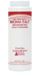 Bromi-Talc Foot Powder