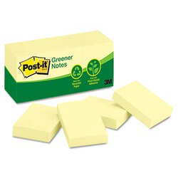 Post-it® Greener Notes MMM-653RPYW