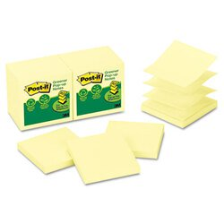 Post-it® Greener Notes MMM-R330RP12YW