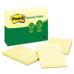 Post-it® Greener Notes MMM-660RPYW