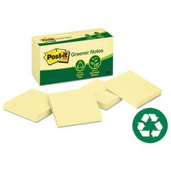 Post-it® Greener Notes MMM-654RPYW