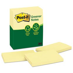 Post-it® Greener Notes MMM-655RPYW