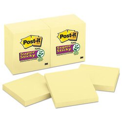 Post-it® Notes Super Sticky MMM-65412SSCY