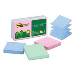 Post-it® Greener Notes MMM-R330RP6AP