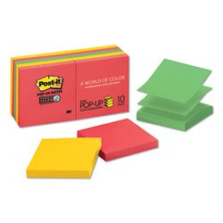 Post-it® Pop-up Notes Super Sticky MMM-R33010SSAN
