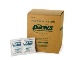 Safetec of America Paws® Sanitizing Skin Wipe