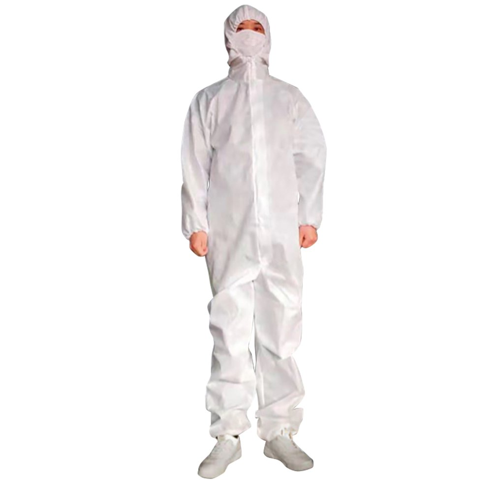 Picture of Coverall Cypress Large White Disposable NonSterile, 50 per Case