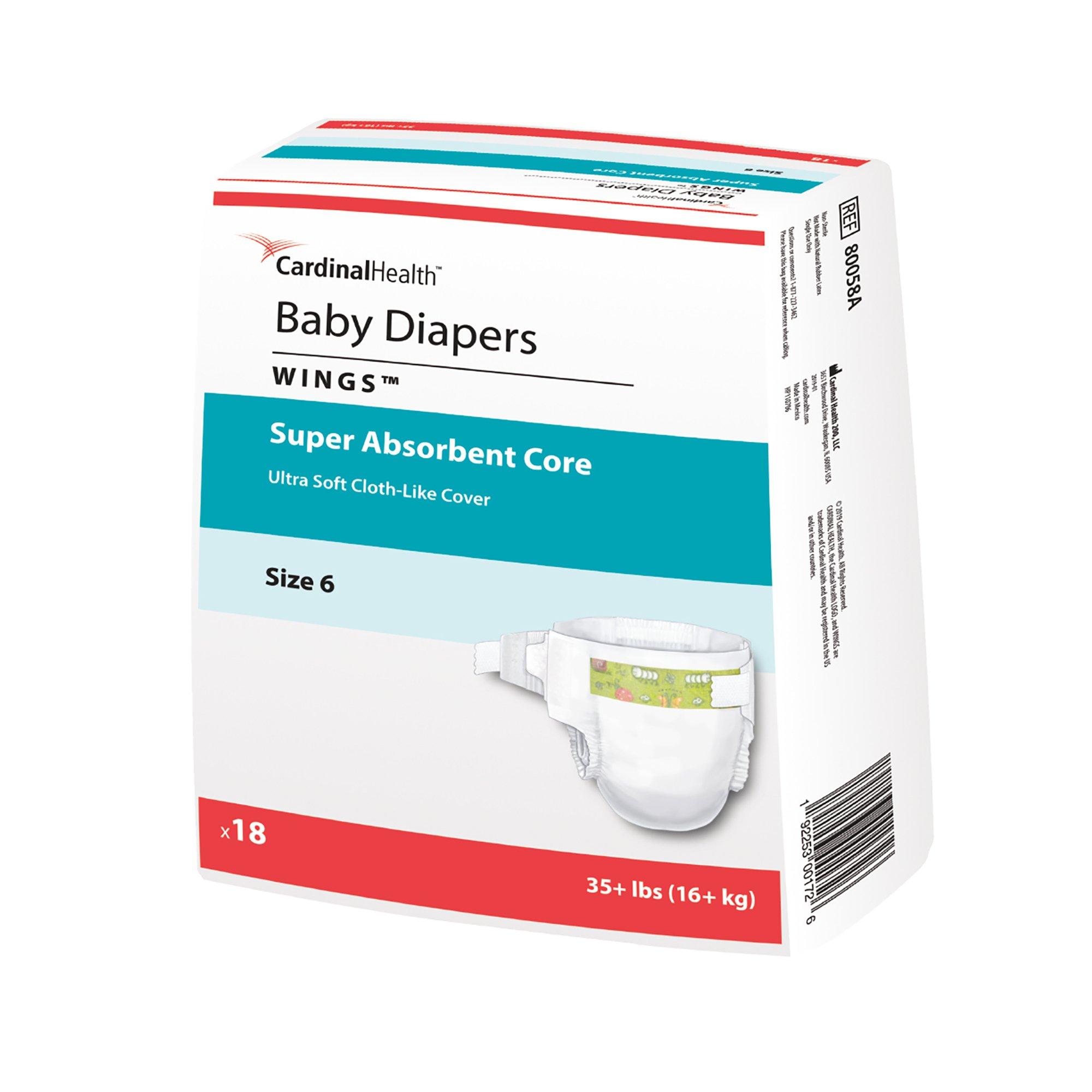 Covidien  80058A Curity Baby Diaper-2XL-144/Case